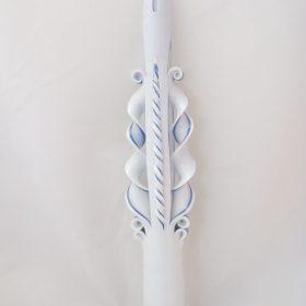 26cm Krikšto žvakė 1m.